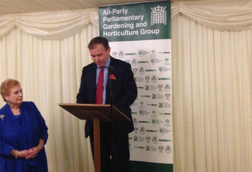 Baroness Fookes and George Eustice