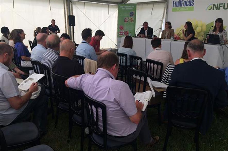 Latest NFU figures on labour shared at Fruit Focus event  - Image HW