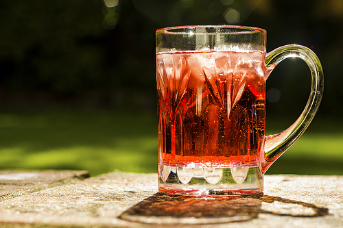 Fruit-flavoured cider - image:Toby Charlton-Taylor