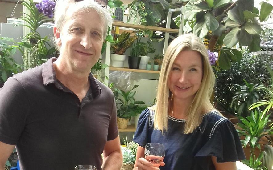 Gary Collinson and Madeleine Evans