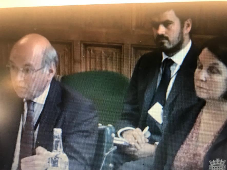 Lord Gardiner and Nicola Spence