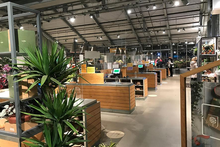 New customers: growing popularity of gardening during lockdown saw retailers increase sales last year and some say engagement will rise further when sun shines in spring - credit: Squire's