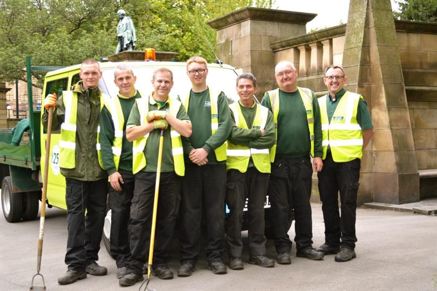 Glendale Liverpool employees. Image: Supplied