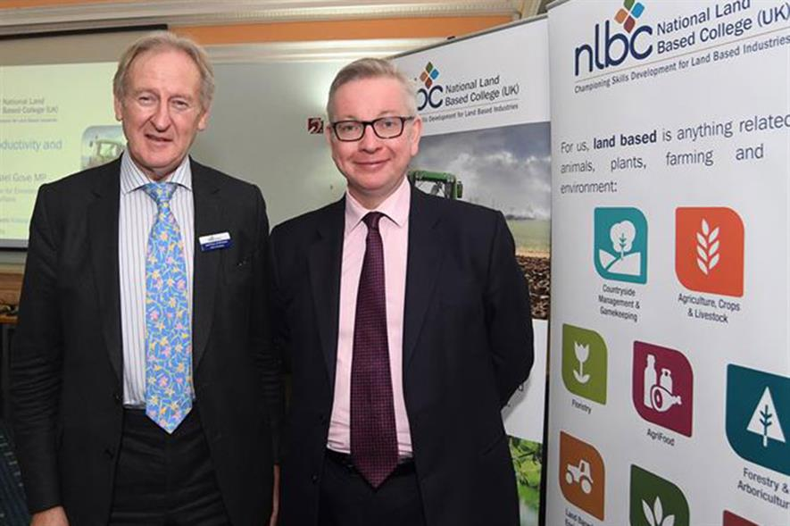 Lord Curry and Michael Gove