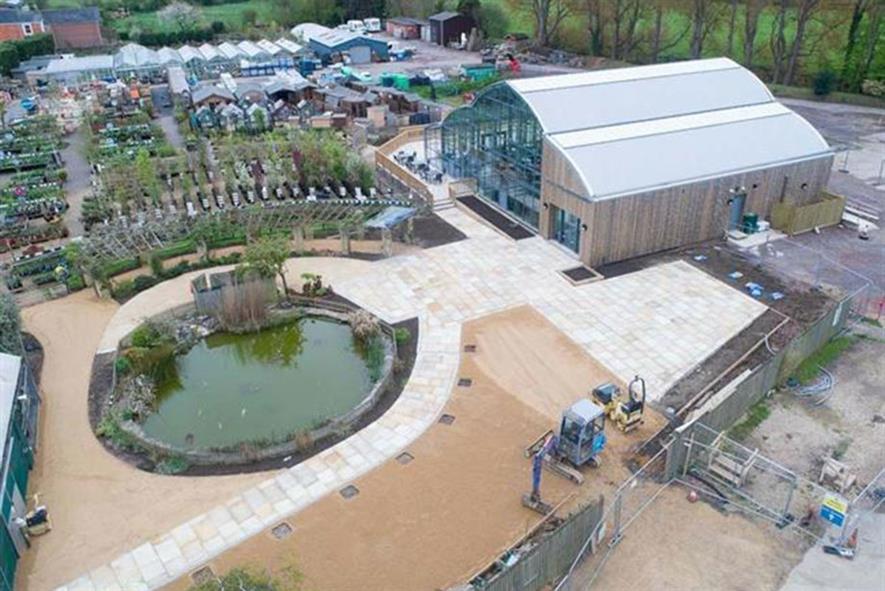 Groves Nurseries opens new garden centre restaurant | Horticulture Week