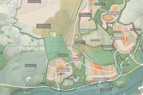 Masterplan visualisation of the Harlow development (Image: Places for People)