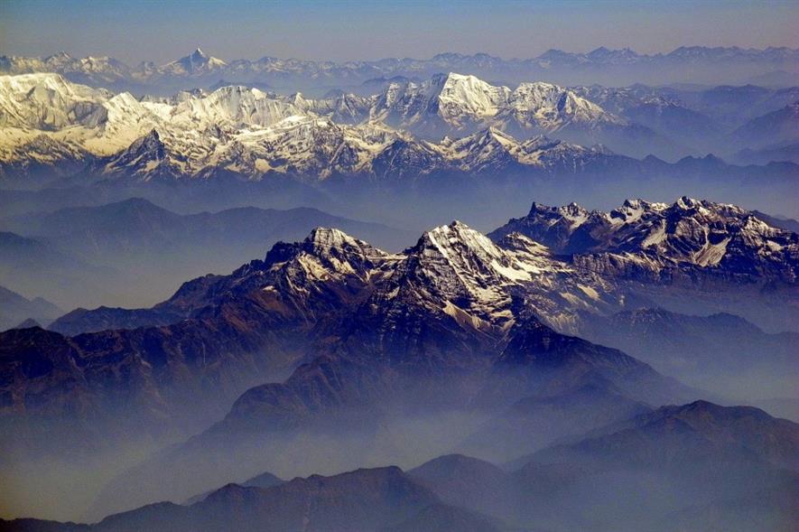 Himalayas. Image: Public domain