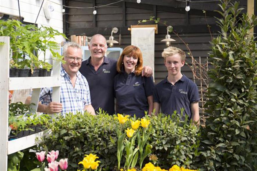 Hortus Loci Robin Wallis, Mark Straver, Sue Robertson and Danny Green photo credit Lynn Keddie
