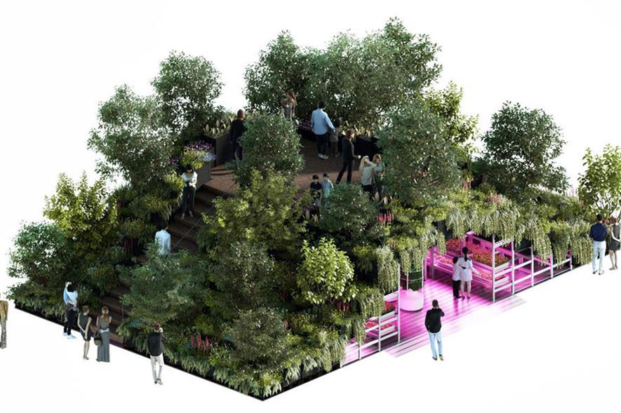 IKEA garden for RHS Chelsea Flower Show 2019