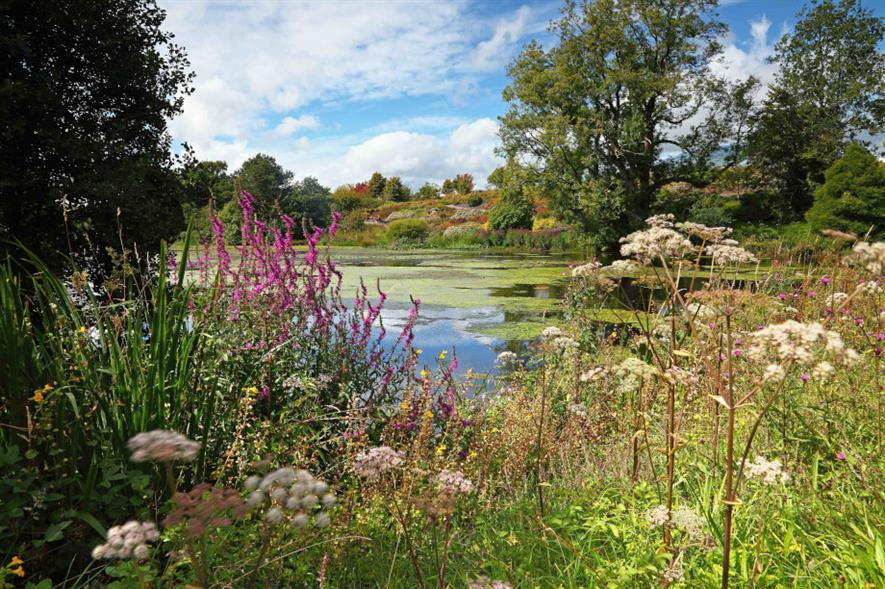 The 300-acre landscape and lakes have been restored to the original Regency design - image: The National Botanic Garden of Wales