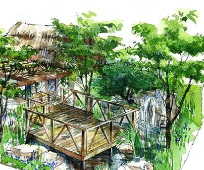 Matt Keightley's Sentebale garden