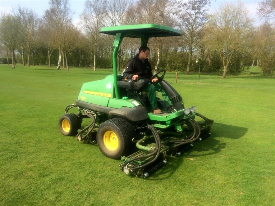 John Deere mower purchase cuts fuel costs for golf course