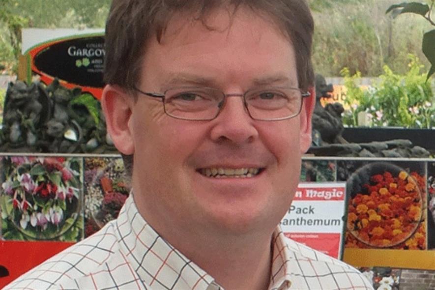 Hillview Garden Centres chief executive officer Boyd Douglas-Davies