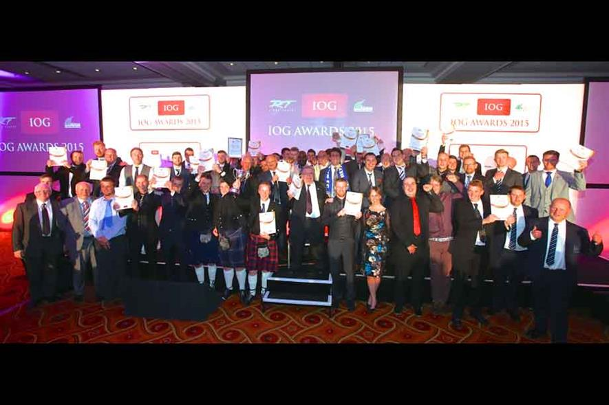 IOG award winners. Image: Supplied
