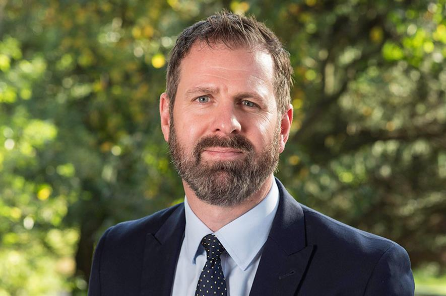 Chief executive of Urban Green Newcastle, James Cross - image: Urban Green Newcastle