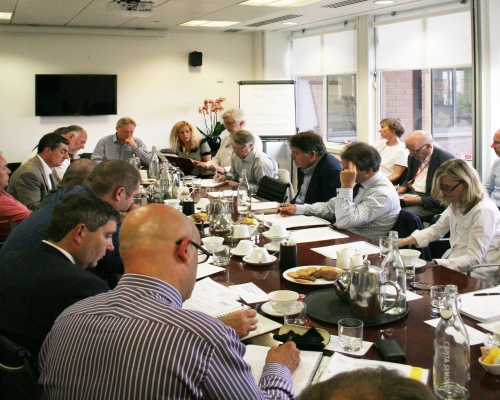 One of the workshops, hosted by Capita Symonds. Picture: Farrells