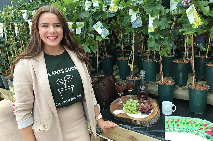 Mollie Higginson - credit: New Leaf Plants