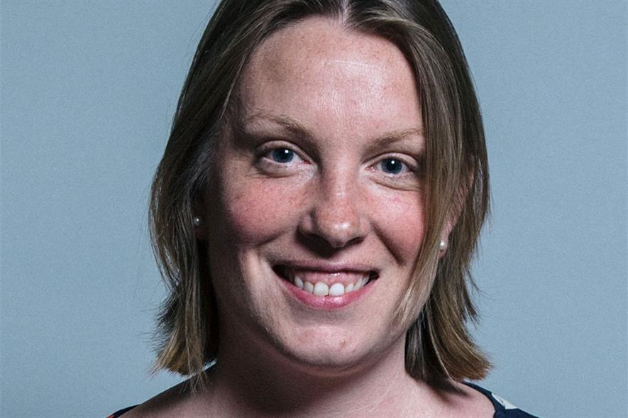 MP Tracey Crouch - credit: Chris McAndrew (CC BY 3.0)