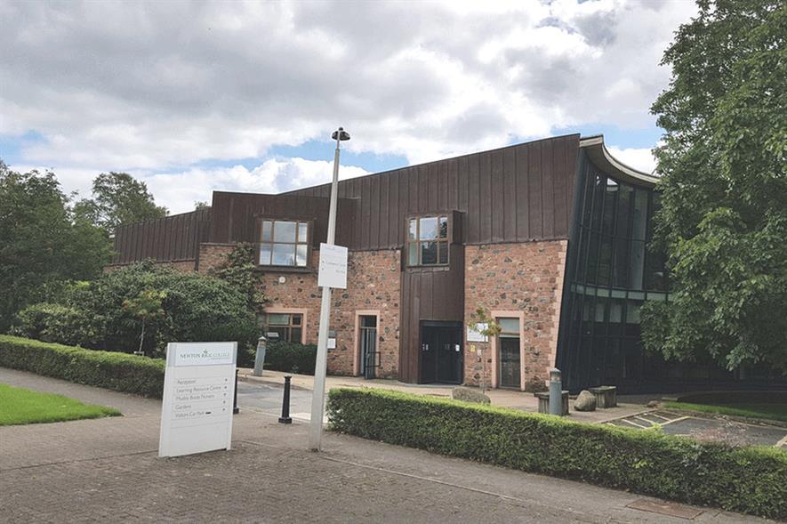 Newton Rigg College Frank Parkinson Building - credit: Colin Cheesman (CC by SA 2.0)