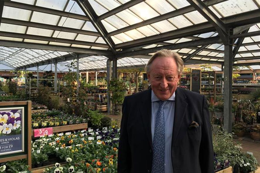 Dobbies chief executive - image: HW