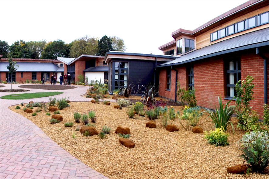Norfolk Hospice garden. Image: Supplied