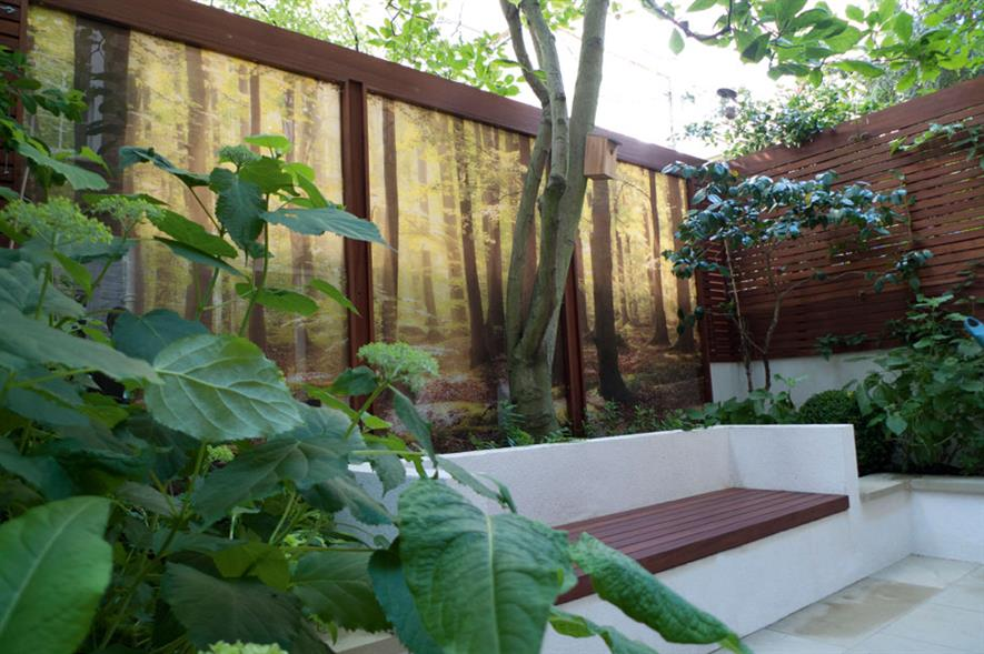 Domestic Garden Construction (cost under £30K) - Bartholomew Landscaping Private residence, London SW1V