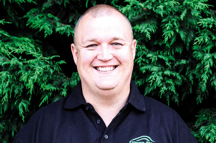 Mark Wood, business manager, Green-tree - image: Green-tree