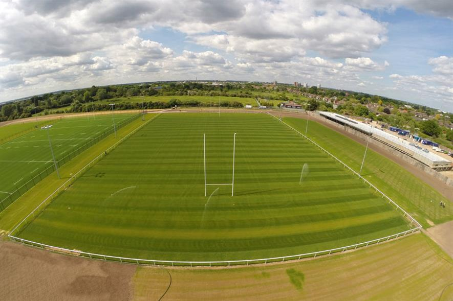Sports Grounds & Leisure Facilities - MJ Abbott London Irish RFC Training Facilities, Sunbury-on-Thames TW16