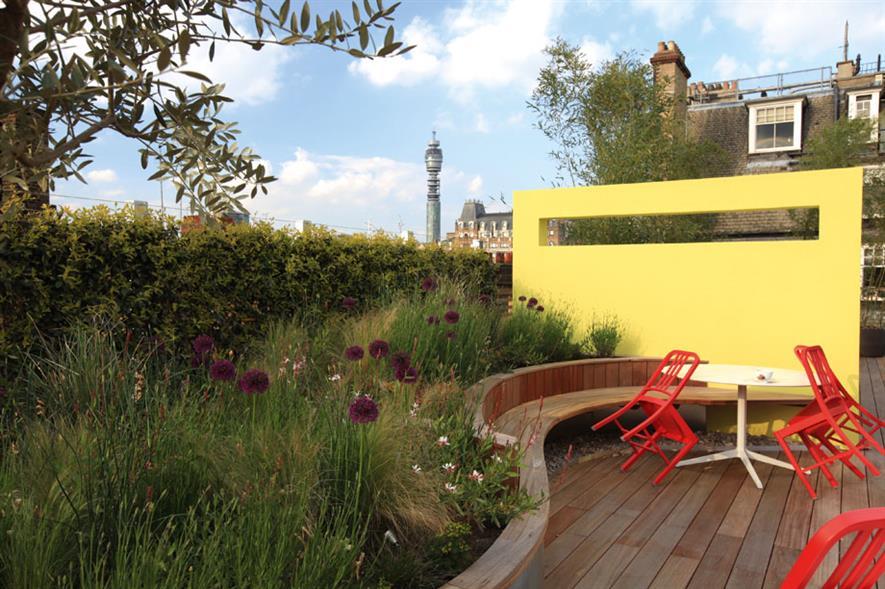 Green Roof Installations & Roof Gardens - Gavin Jones Coca-Cola HQ, London