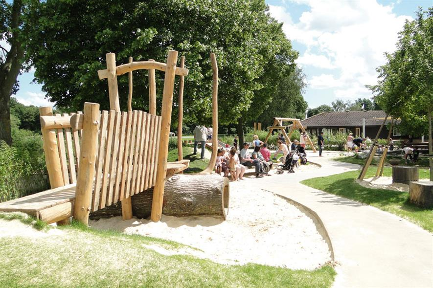 BALI Registered Contractors & Registered Designers Joint Submission - Gerald Davies & Davies White Otter Nature Playground, Ferry Meadows Country Park, Peterborough PE2