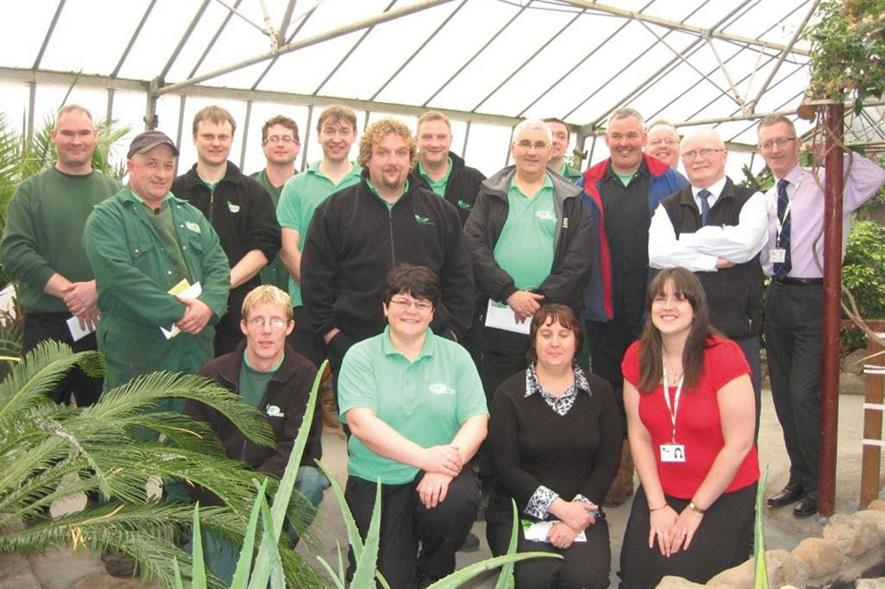 Employer of the Year - GP Plantscape