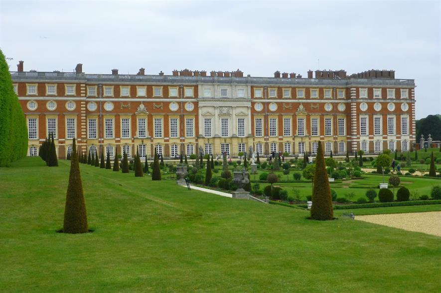 Hampton Court Palace is one of six sites managed by Historic Royal Palaces - credit: Pixabay