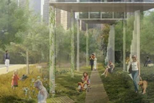 Park life by Hannah Cameron & Atkins Shanghai Design Studio