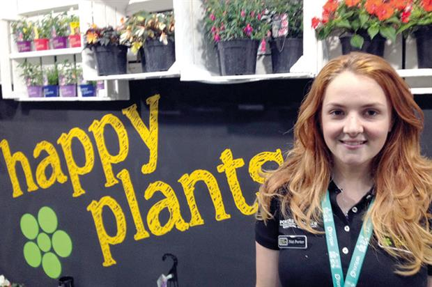 Porters Fuchsias' sales and marketing manager Natalie Porter
