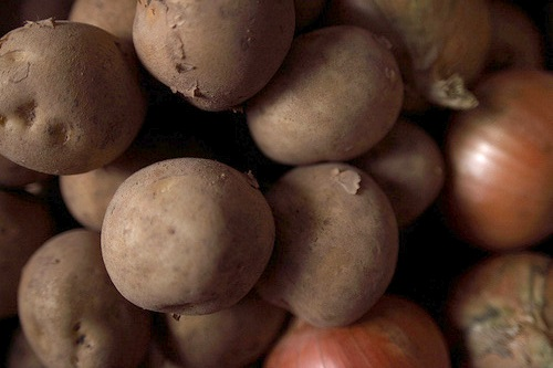 Potatoes and onions are the focus of the first HAPI funding tranche - image:Jun Maegawa