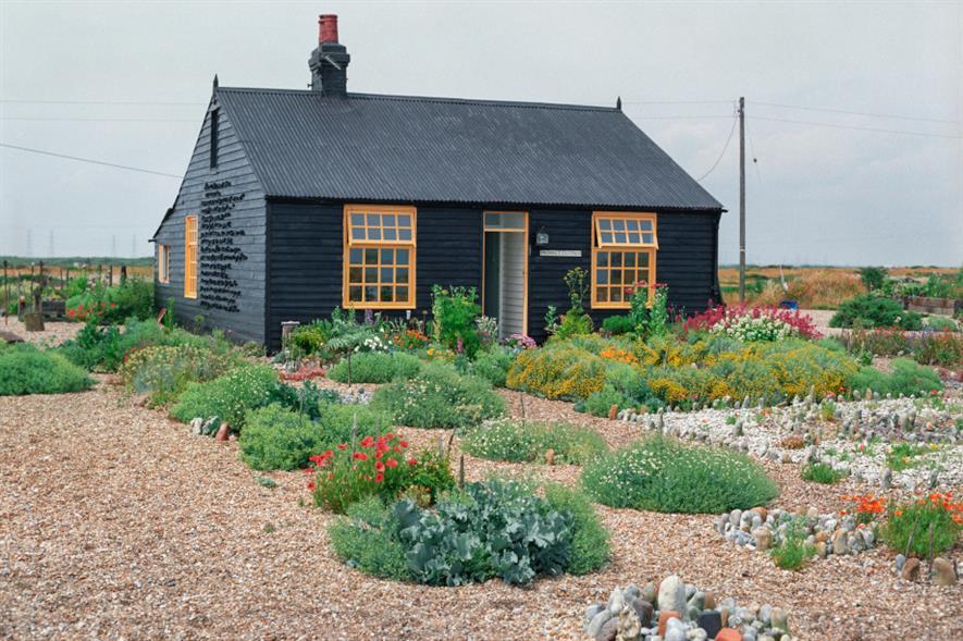 Prospect Cottage and garden - image: Art Fund