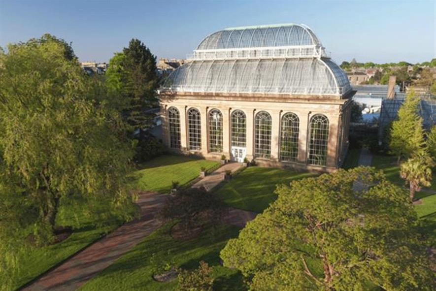 RBG Edinburgh Palm House