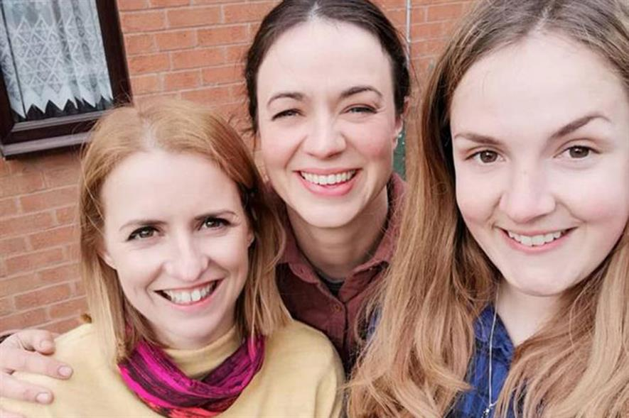 Katie Rushworth, Frances Tophill of Love Your Garden, and Natalie Porter