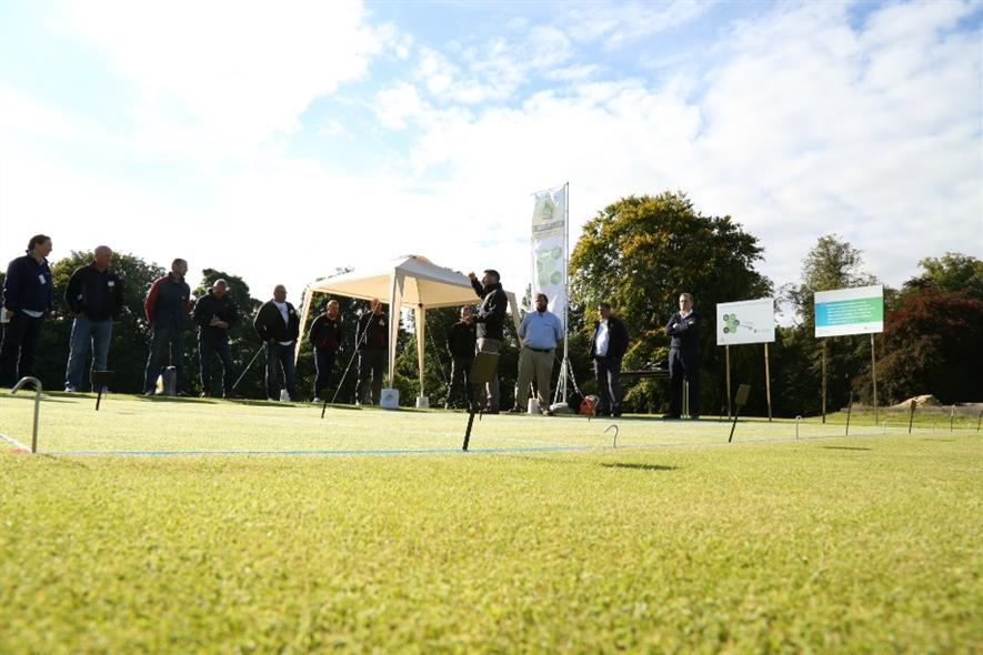 Bayer's STRI plot trial. Image: Supplied