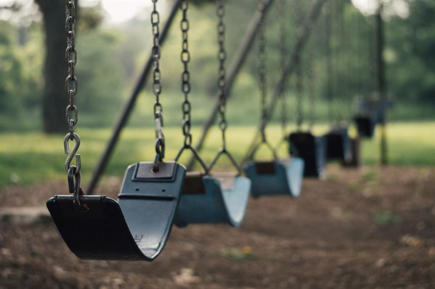 Playground owners have been advised to reduce the number of seats available on equipment such as swings - credit: Pixabay
