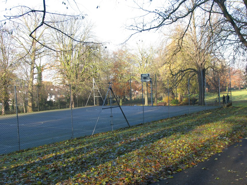 One of the tennis courts in parks which are part of the contract. Image: Croydon Council
