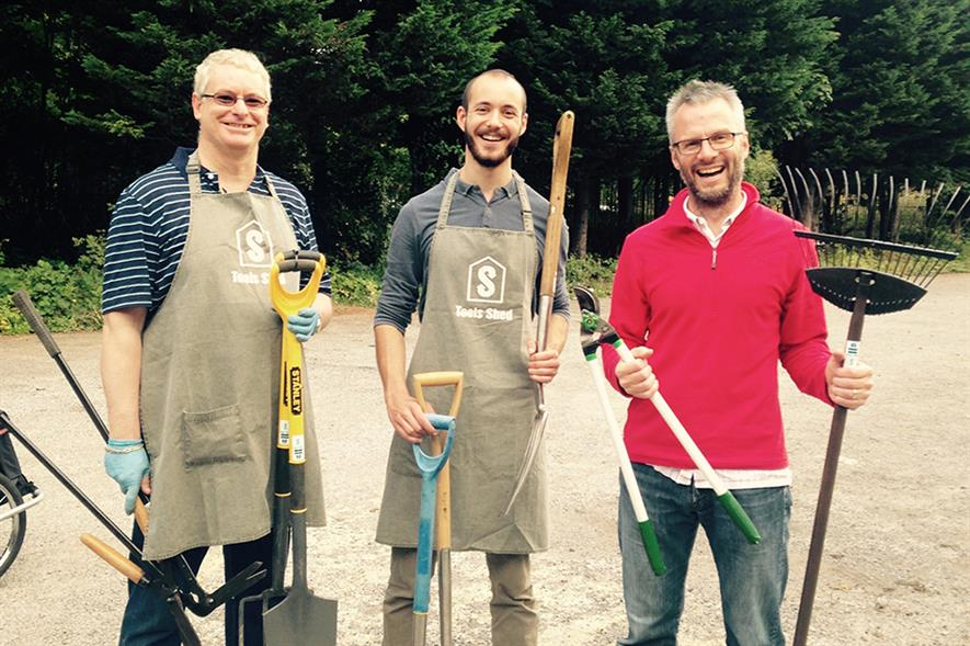 Paul Robertson, James Coleman and Richard Couldrey