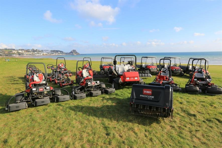 Toro supplier Lely has split its agriculture and turfcare business in two. Image: Lely