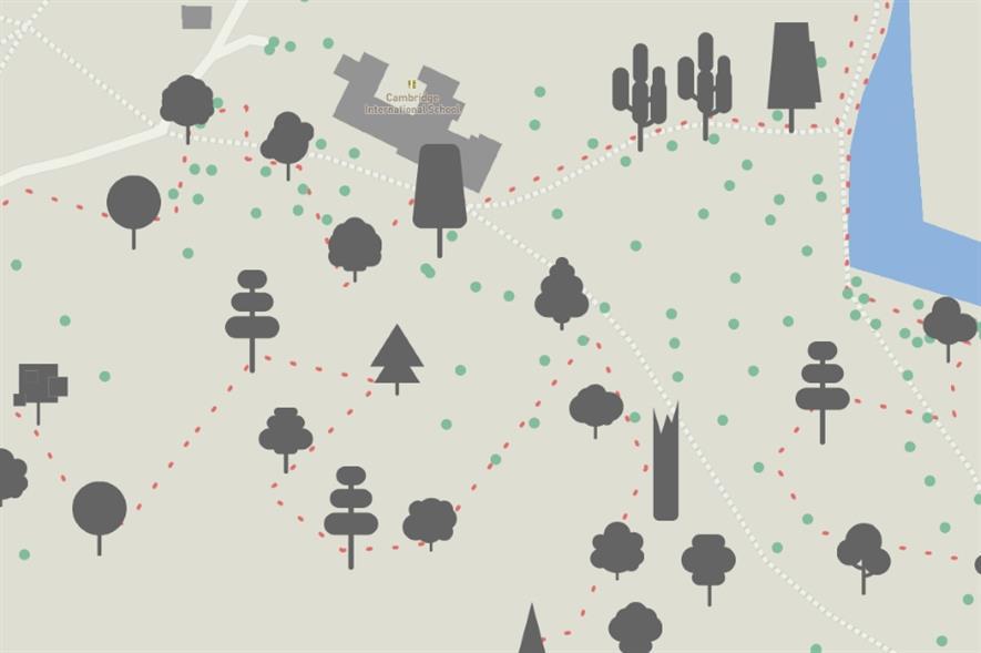 Image: Mapbox / OpenStreetMap