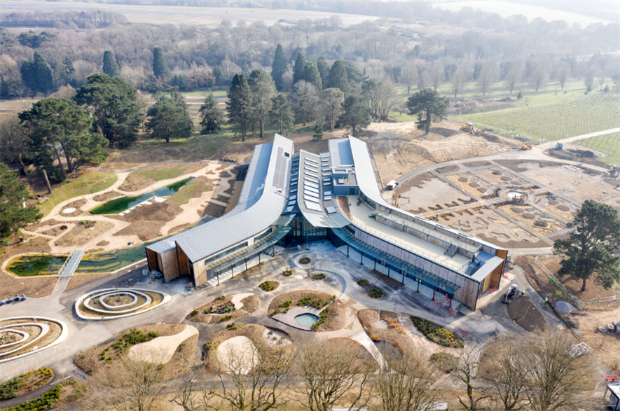 RHS Hilltop – The Home of Gardening Science will open at Wisley this June - credit: RHS