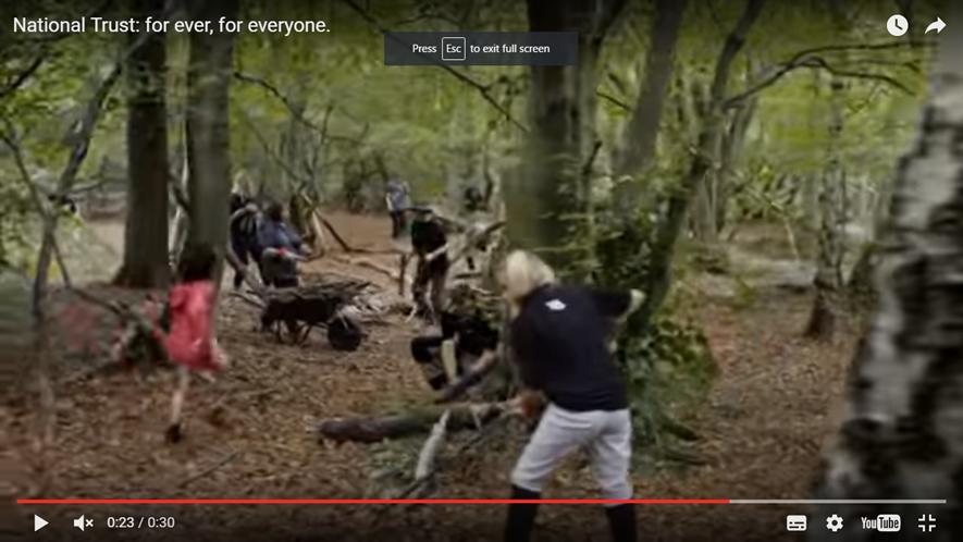 National Trust TV advert
