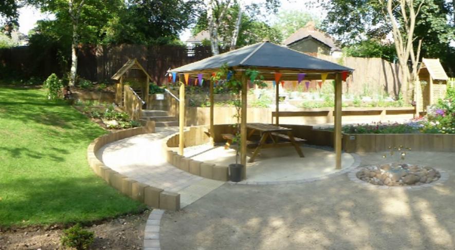 Glendale's sensory garden
