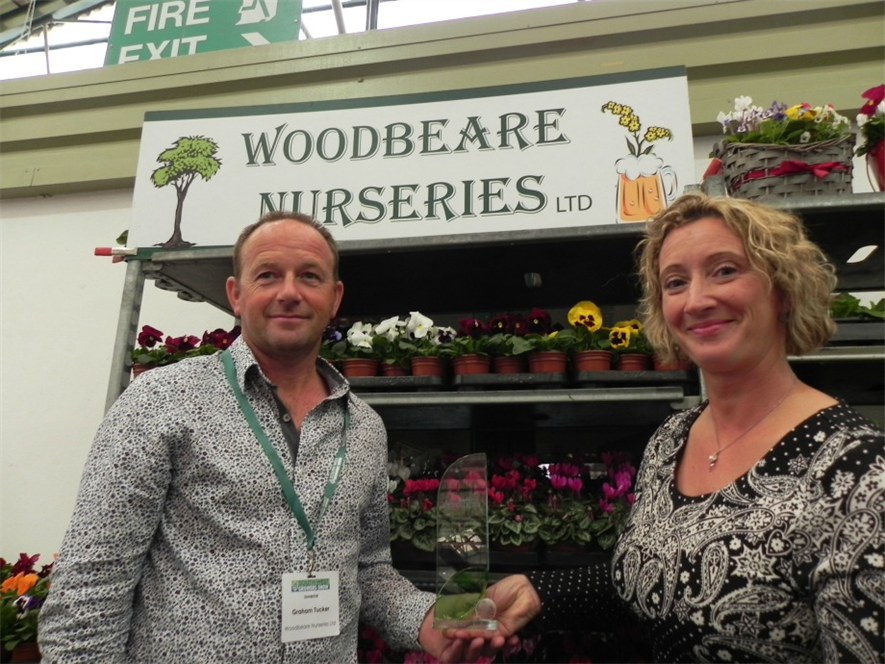 South West Regional Growers winner Woodbeare Nurseries