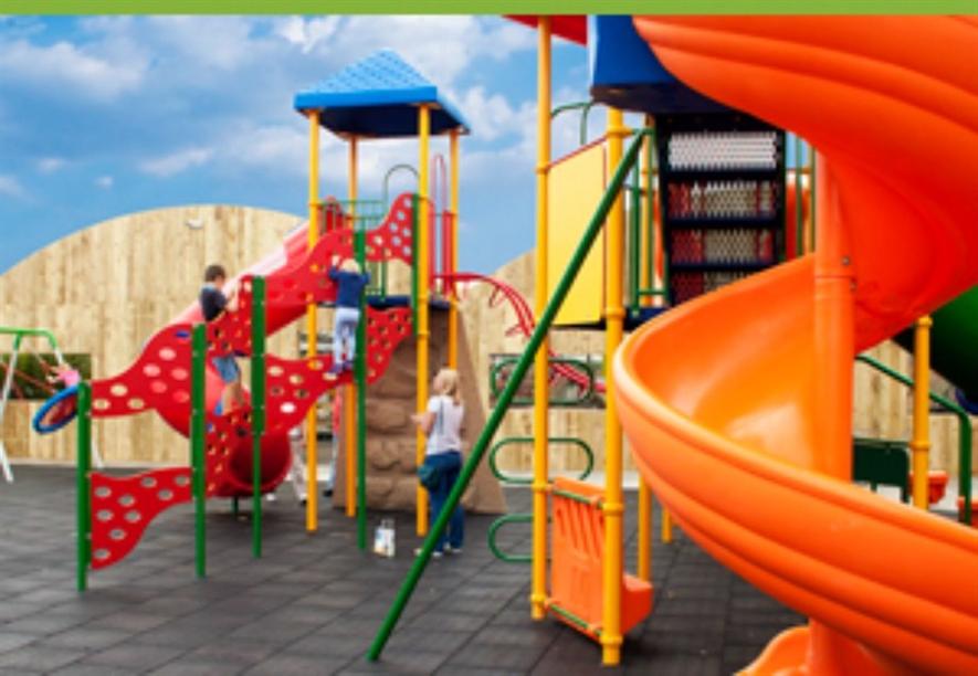 Play area at Brigg