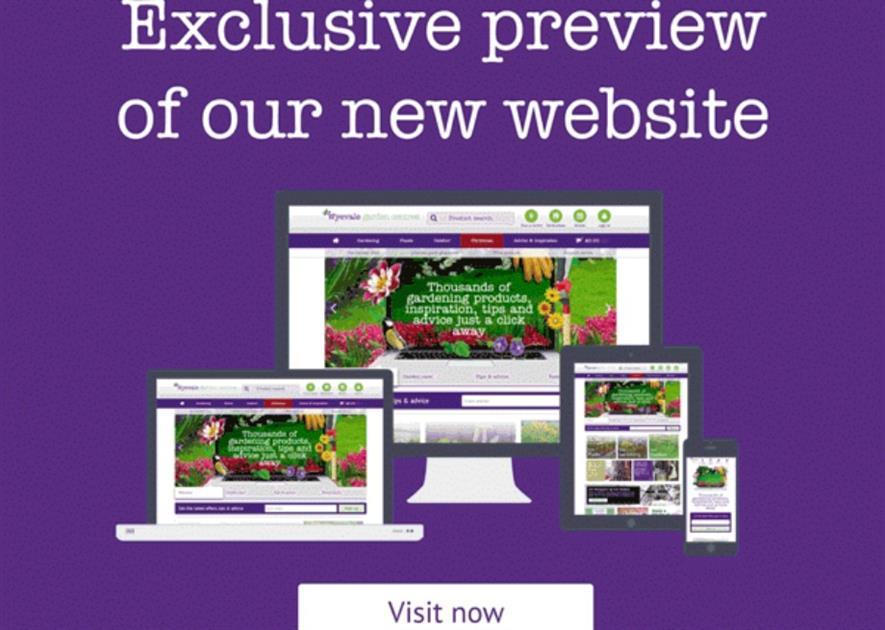 Wyevale Garden Centre Online Gears Up Horticulture Week